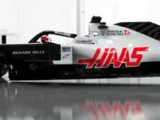 Formule 1-bolide Haas terug naar vertrouwd grijs, rood en zwart