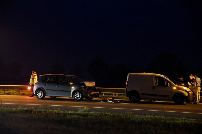 Twee ongelukken op de A58 bij Moergestel.