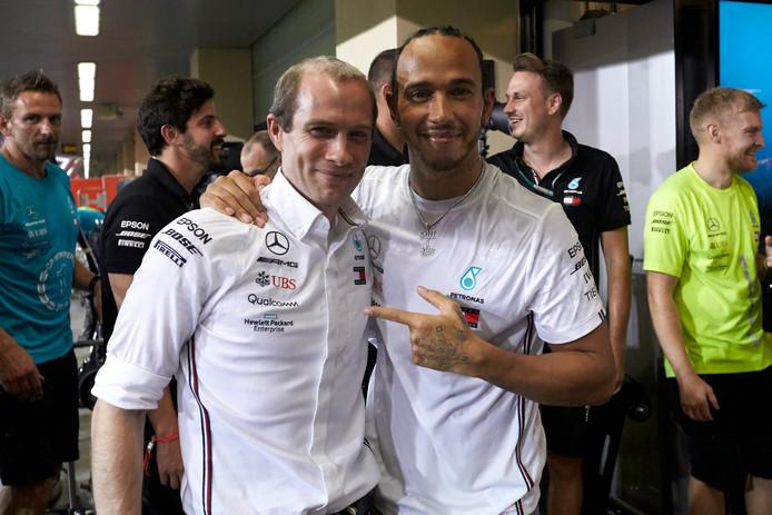 Lewis Hamilton et Toto Wolff