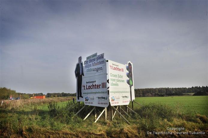 De verkoop van  bedrijfsgrond op industrieterrein 't Lochter 3 in Nijverdal zit in de lift.