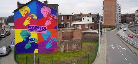 Une fresque monumentale à la façon de Warhol dans le quartier d'Amercoeur