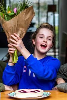 Hoera! Luz (11) is ingeloot en mag volgend jaar naar haar favoriete middelbare school