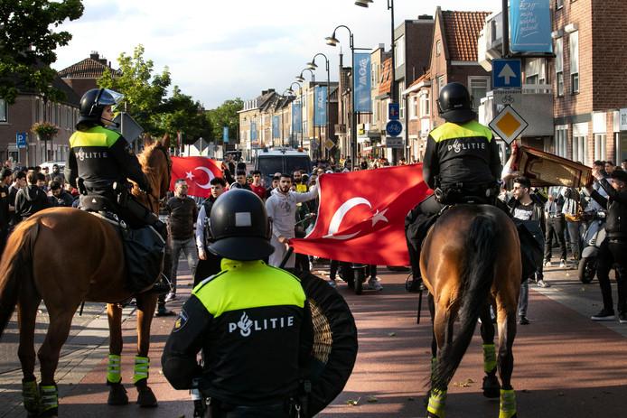 Pegida-betoging in Eindhoven.