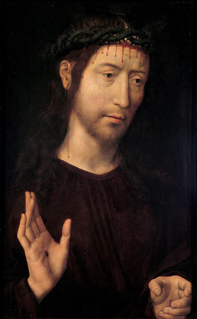 Hans Memling: Zegenende Christus, 1485. Beeld null
