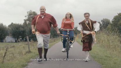 Amelie Albrecht brengt in toeristisch promofilmpje ode aan eigen stad Dendermonde