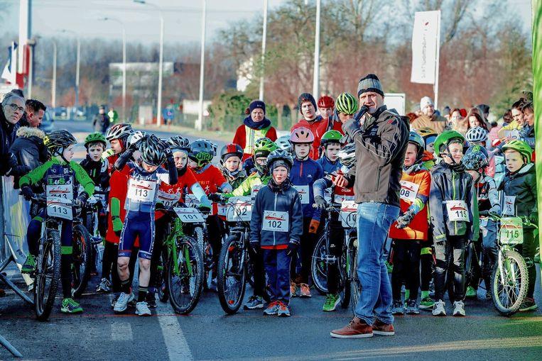 Ook de allerkleinsten kunnen deelnemen aan de Run & Bike Eeklo.