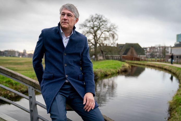 Dijkgraaf Hein Pieper van het Waterschap Rijn en IJssel.