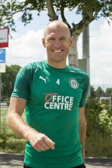 Robben wordt aanvoerder bij FC Groningen: 'Hij is het ultieme voorbeeld'