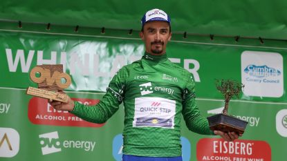 KOERS KORT. Alaphilippe grijpt in Groot-Brittanië naast zege, maar wordt wel leider - Kopecky onttroond in Lotto Belgium Tour