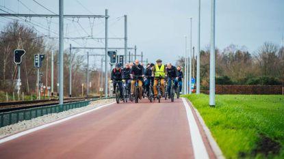 Eerste drie kilometer van nieuwe fietsostrade tussen Herentals en Balen is klaar