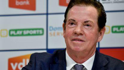 """Paul Gheysens legt lat flink stuk hoger: """"Wij gaan voor Europees voetbal met Antwerp"""""""