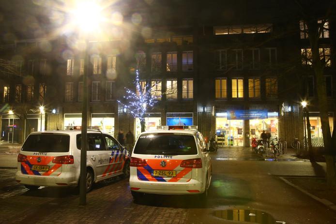 De Albert Heijn in Son werd zaterdagavond overvallen.