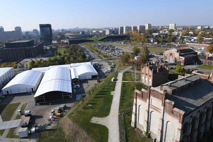 Het conferentiecentrum van de klimaattop bevindt zich bovenop een oude kolenmijn in Katowice, een industriestad in de zuidelijke Poolse mijnstreek Silezië.