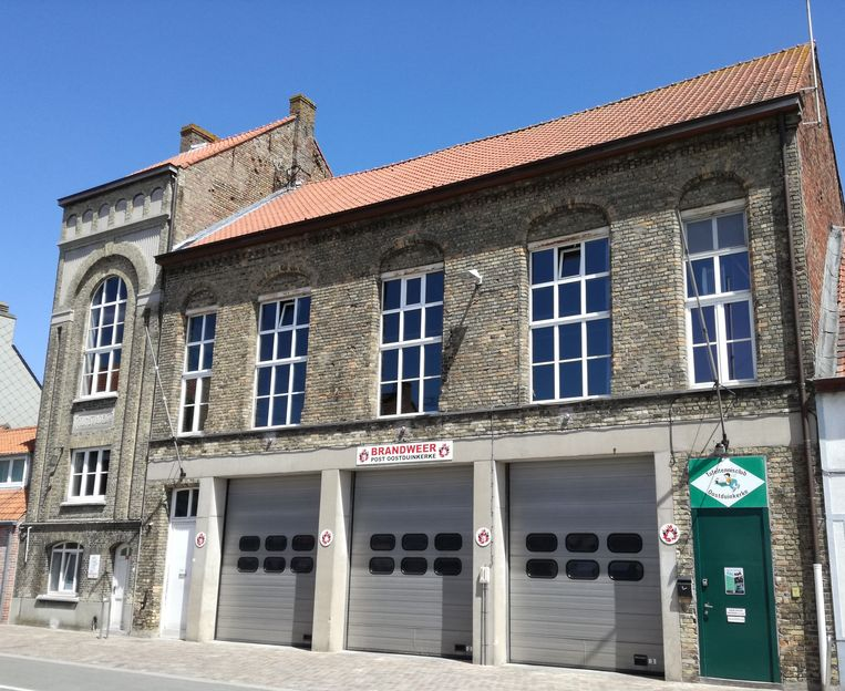 De vroegere theaterzaal boven het brandweerarsenaal.