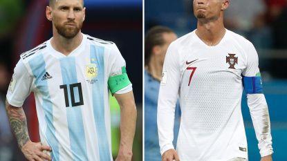 Dynamische grafiek schept leuke inzichten in de vergelijking tussen Messi, Ronaldo en andere topschutters