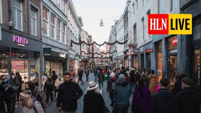 """LIVE. Moderna vraagt goedkeuring voor coronavaccin - Crisiscentrum waarschuwt voor drukke winkelstraten: """"Kunnen we ons nog niet permitteren"""""""