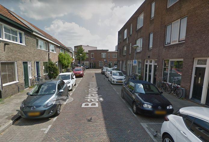 Een deel van de Bataviastraat in Utrecht.