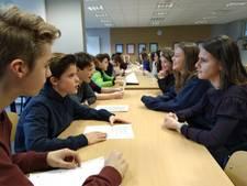 Een speeddate met een Duitse scholier die Nederlands leert