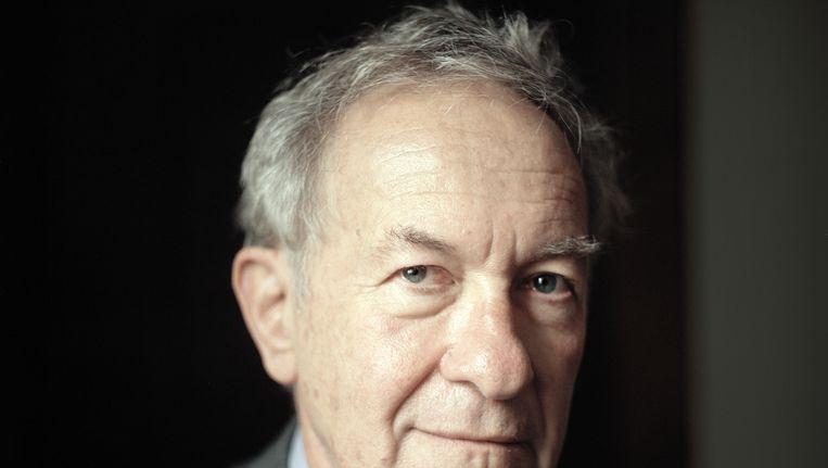 Simon Schama, een van de prominente historici die de open brief aan The Guardian ondertekenden. Beeld Joost van den Broek / de Volkskrant