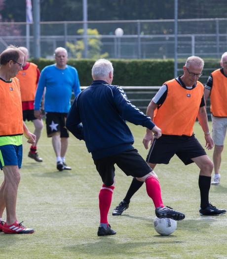 Sportclub Wesepe zet eerste schreden voor wandelvoetbal