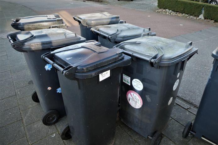 Afval aan de straat zetten wordt negentig euro duurder in Gestel.