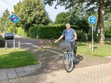 Is dit stukje asfalt in Tuk het kortste fietspad van Nederland?