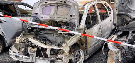 Meerdere autobranden in Oldenzaal