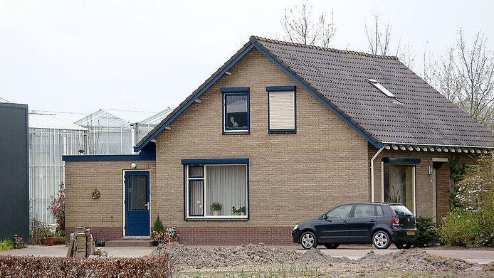 De woning in Brakel die in maart doelwit was van overvallers.