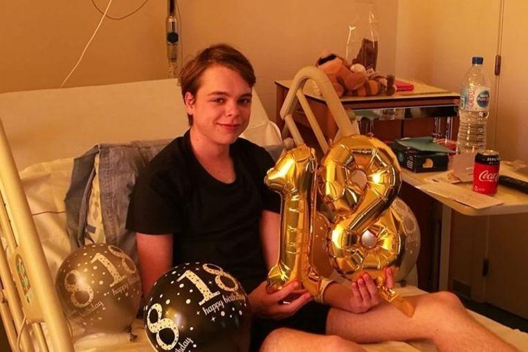 Nordin Allaert (18) verloor de strijd tegen kanker.