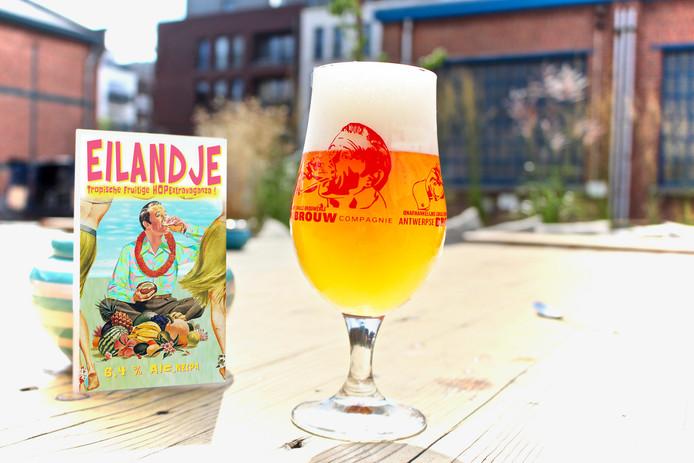 Nieuw bier Eilandje.