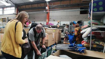 Kampeerplannen? Dit weekend stockverkoop van tweedehands materiaal van Tomorrowland-camping