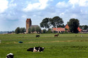 Het uitgestrekte Friese landschap