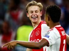 Ajax en PSG onderhandelen over transfer Frenkie de Jong