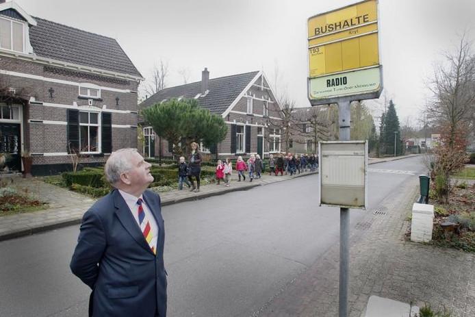 Burgemeester Henk Aalderink van Bronckhorst. Archieffoto Cees Baars
