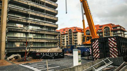 Sloopwerken aan residentie Mosselbank gestart