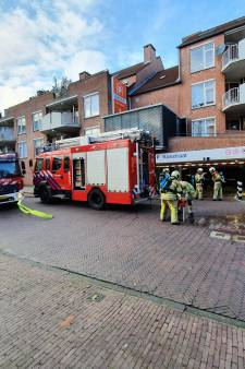 Auto brandt uit in parkeergarage Koestraat in Amersfoort
