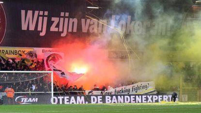 """Lokerenfans blijven achter club staan ondanks degradatiezorgen: """"Supporter ben je in goede én slechte tijden"""""""