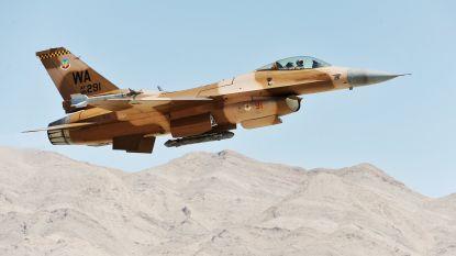 Piloot omgekomen bij F-16-crash vlakbij Las Vegas