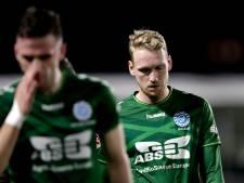 Stef Nijland zal zich in het shirt van DVS'33 nog steeds een profvoetballer voelen