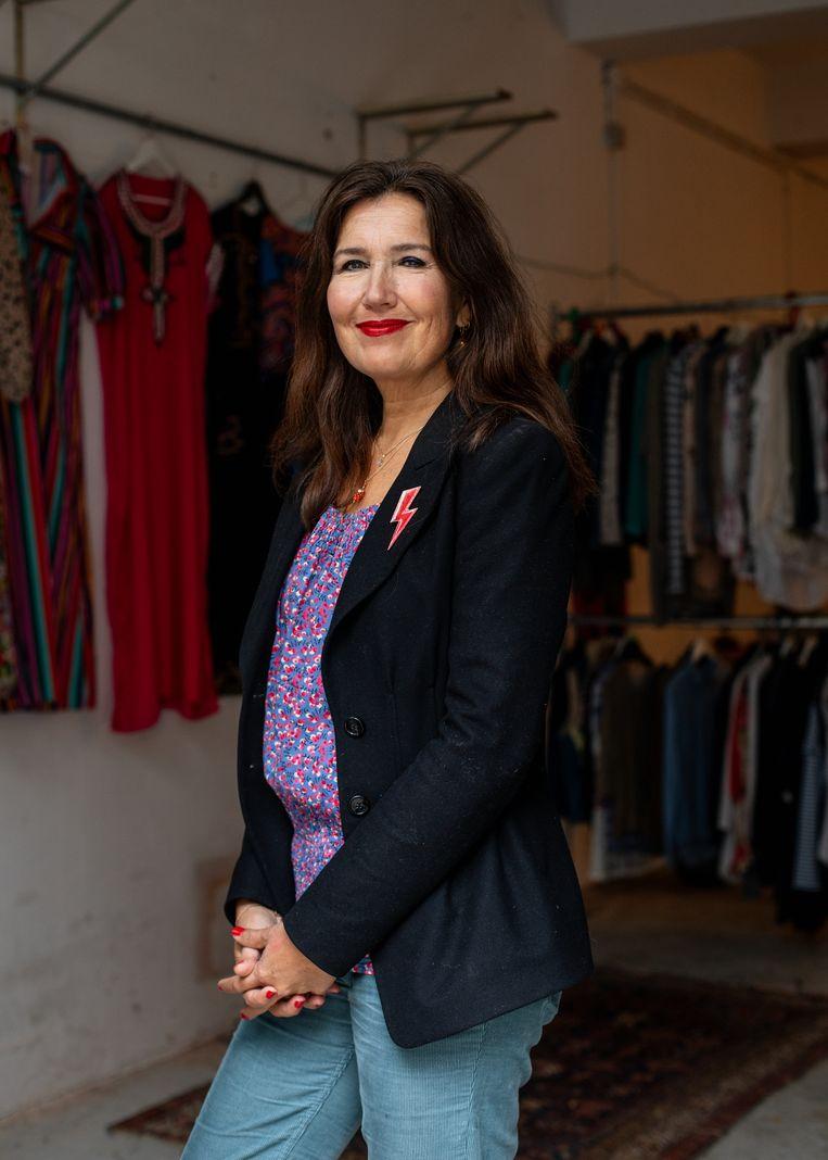 Elisabeth Heijkoop (53) Beeld Lin Woldendorp