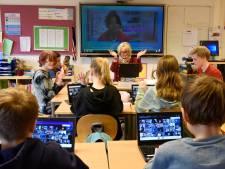 Nóg weer iets drukker in de noodopvang van basisscholen: het gaat nog nét