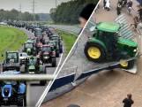 Boeren protesteren tegen nieuwe stikstofregels