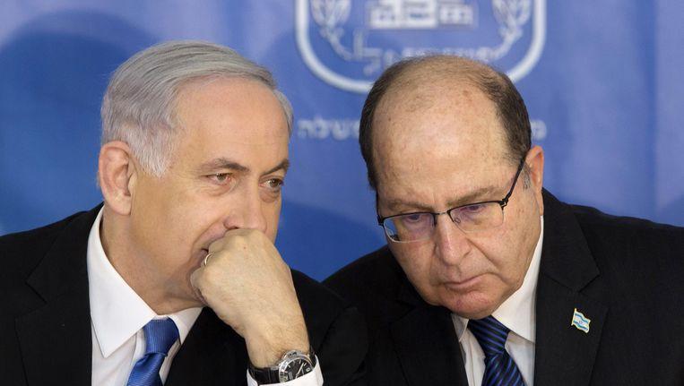 Netanyaho en Yaalon. Beeld ap