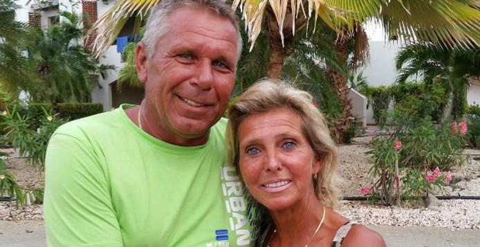 Hans en Karin wonen nog steeds op de Antillen.