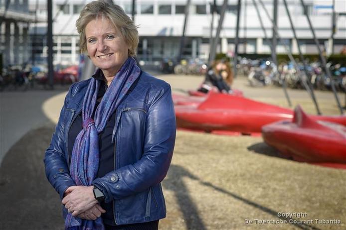 Lisette van Gemert is één van de vrouwelijke hoogleraren op de UT.