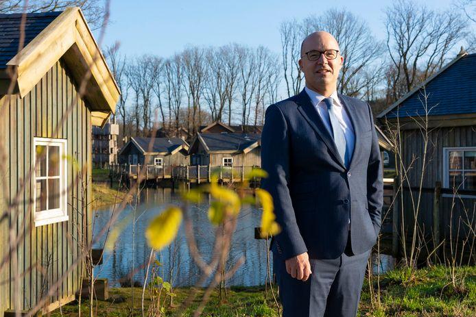 Ook de gasten van vakantiepark Het Loonsche Land zijn in 2020 duurder uit, omdat de gemeente Loon op Zand tot ongenoegen van Efteling-directeur Fons Jurgens (foto) de toeristenbelasting verhoogde.