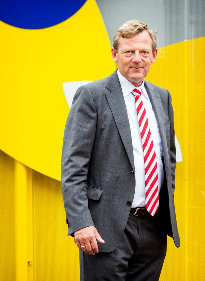 Frits van Bruggen, de nieuwe directeur van de Koninklijke Nederlandse Toeristenbond ANWB.
