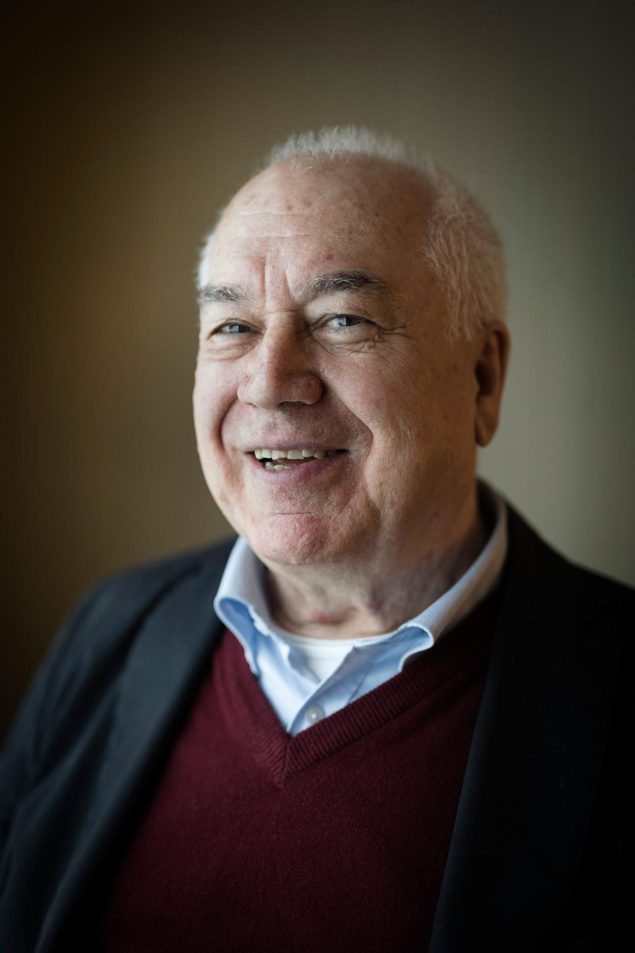 Politicoloog Bassam Tibi: 'In West-Europa domineert de politieke correctheid.' Beeld Daniel Rosenthal