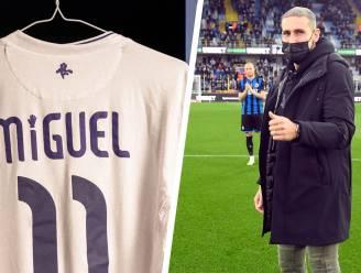 Knap eerbetoon aan Miguel Van Damme: Anderlecht speelt met 'Miguel' op truitjes die daarna geveild worden voor goede doel