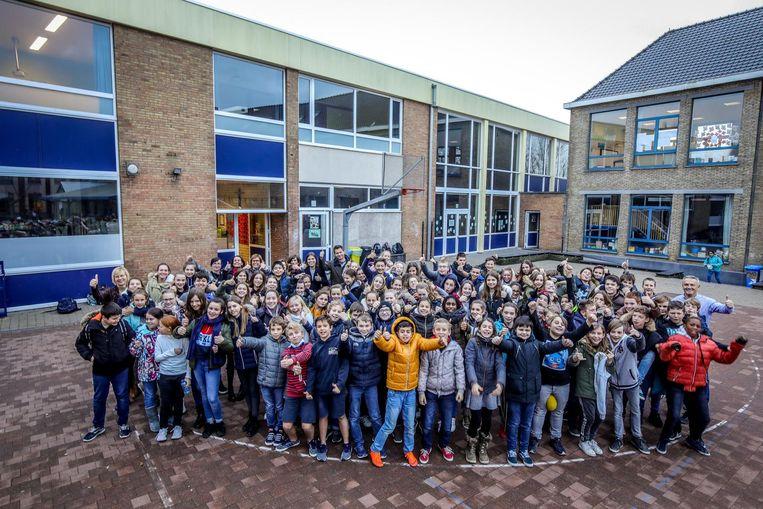 SIGO Eernegem (enkel eerste graad) telt maar 97 leerlingen, maar die zamelden wél een recordbedrag in .